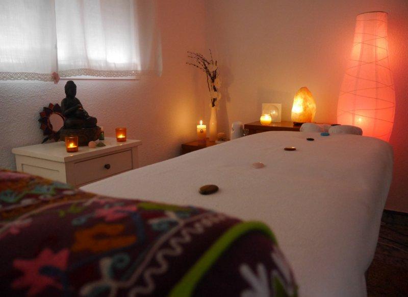 relajante sala de masaje salida